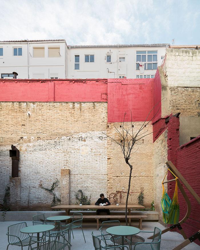 wayco ruzafa coworking terraza