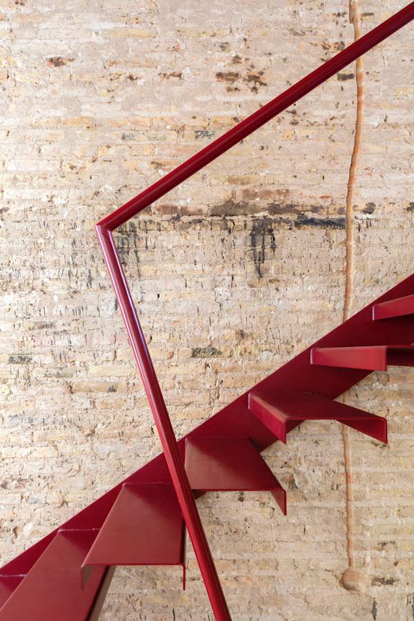 escaleras casa conserva
