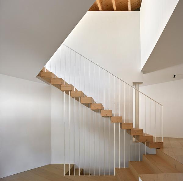 escaleras casa de campo