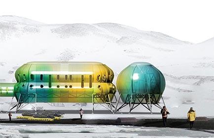 Base en la Antártida en Río de Janeiro