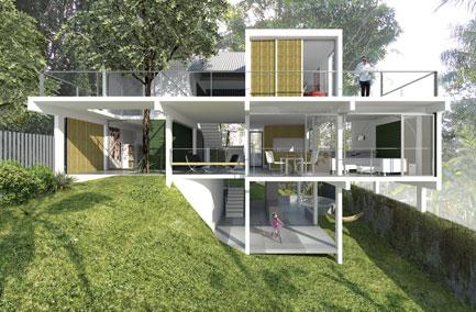 Casa Felipe Barros en Río de Janeiro