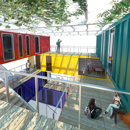 Proyectos con containers