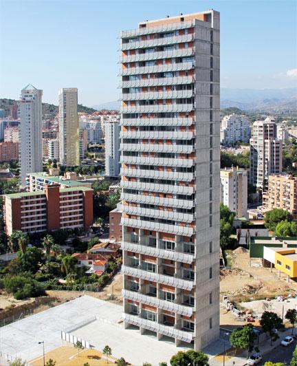 Edificio La Torre en Benidorm
