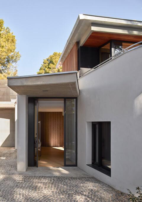 puerta casa de campo