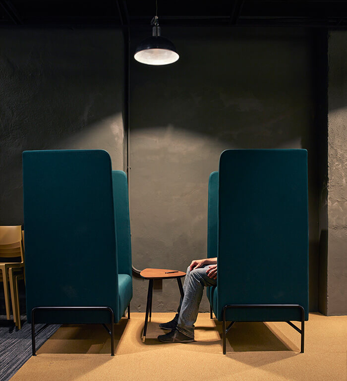 Coworking Wayco sillones 1