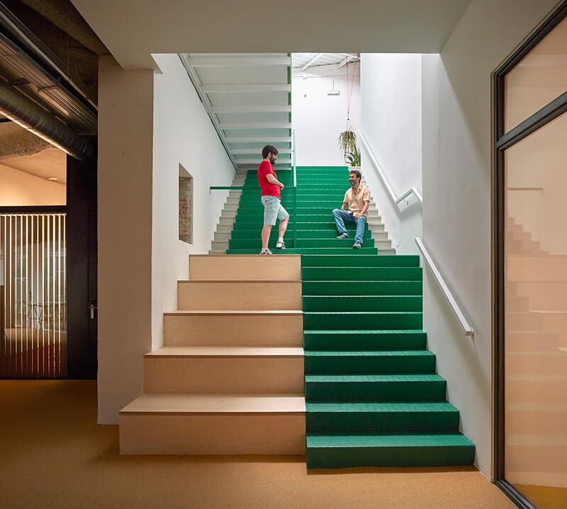 escaleraverde coworking wayco ruzafa fase dos