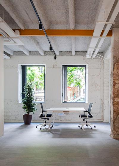 Salas independientes en coworking Wayco ampliado