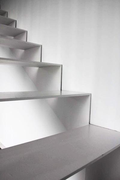 escaleras proyecto benidorm